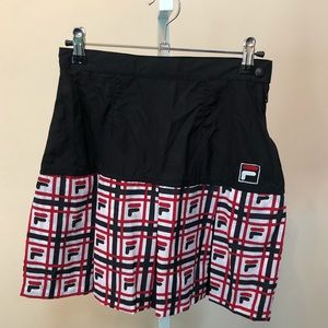 Fila Nylon Tennis Skirt (xs)